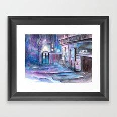 WhoLock  Framed Art Print