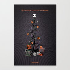 The Nightmare Before Christmas Promo Poster Canvas Print