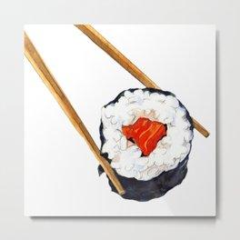 Sushi Nigiri Art Metal Print