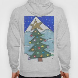 Snowman and Tree Hoody