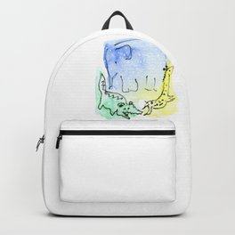 African trio Backpack