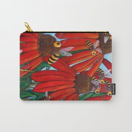 Bee Happy by DeeDee Draz Carry-All Pouch