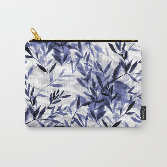 Changes Indigo Carry-All Pouch