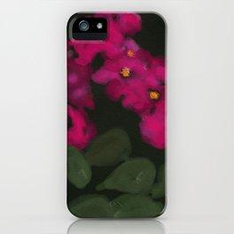 Arctic Bougainvillea iPhone Case