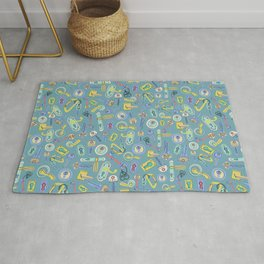 Moving Home House Warming - Blue Rug