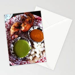 Beer can chicken Stationery Cards