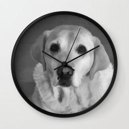 Cookies PLEASE! B&W Wall Clock