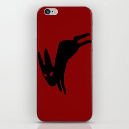 Black Rabbit iPhone Skin