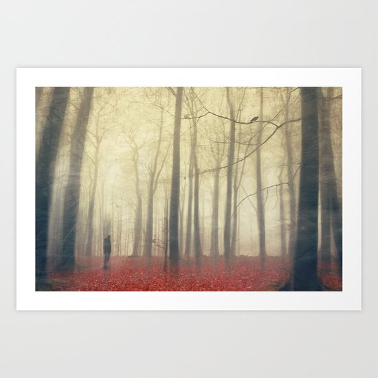 fog radiance Art Print