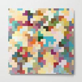 Dreams of Tetris Metal Print