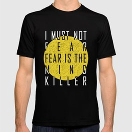 Dune - The Litany Against Fear (WHT) T-shirt