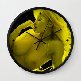 Kylie Jenner - Celebrity - Sexy Pose (Photographic Art) Wall Clock