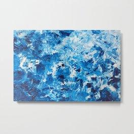 Backrush: Return of Water to the Sea Metal Print