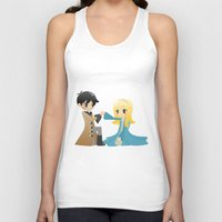 ouat Tank Tops featuring OUAT - Captain Swan by Choco-Minto