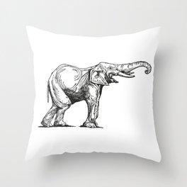 Elephant Elefante Throw Pillow