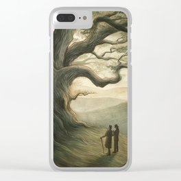 Sherlock Holmes - a patriarch among oaks Clear iPhone Case