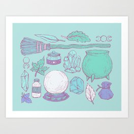 Witchcraft I Art Print