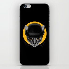 Catwork Orange iPhone Skin