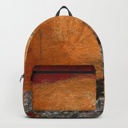 Homage to a ruler Red Backpack