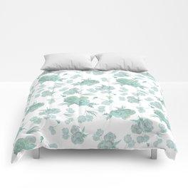 green roses Comforters