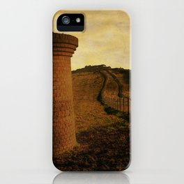 On Shakespeare Cliff iPhone Case