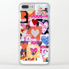 'love squared ...' Clear iPhone Case