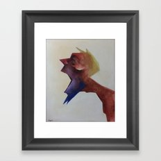 Drowsy Portraits - Sluggish Framed Art Print