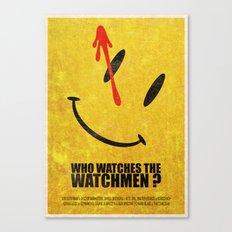 The Watchmen (Super Minimalist series) Canvas Print