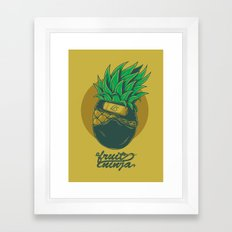 Fruit ninja Framed Art Print