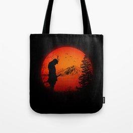 My Love Japan / Samurai warrior Tote Bag
