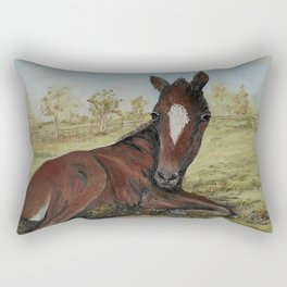 PERFECT POLO PONY Rectangular Pillow