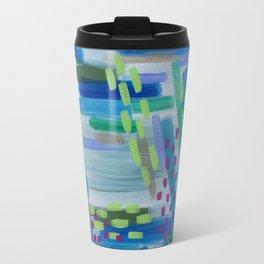 Dotted Abstract Travel Mug