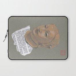 Head of Buddha (Siddartha) Laptop Sleeve