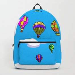 A Sky with Hot Air Balloons Backpack