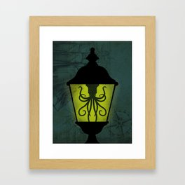 Sea Lantern Framed Art Print