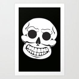Mr. Bones says Hi Art Print