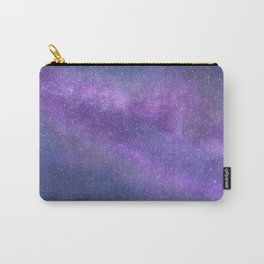 Deep Purple Milky Way Stars Carry-All Pouch