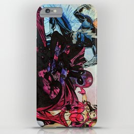 Magneto, Quicksilver, Scarlet Witch iPhone Case