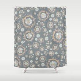 Metallic Sky Shower Curtain
