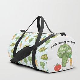 Vegetarian macarena Duffle Bag