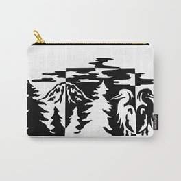 Rainier Heron Carry-All Pouch
