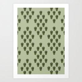 Emerald Thicket Art Print