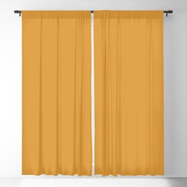 Sherwin Williams Trending Colors of 2019 Gold Crest (Dark Golden Orange) SW 6670 Blackout Curtain