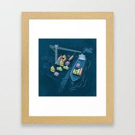 Game Port Framed Art Print