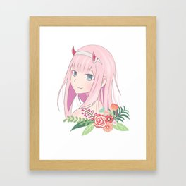 Darling in the FranXX Framed Art Print