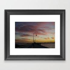 St. Kilda Framed Art Print
