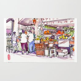 20170309a Chinatown Fruitseller Rug