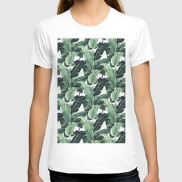 Tropical Banana Leaf T-shirt