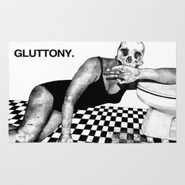 SEVEN DEAD SINS : GLUTTONY. Rug
