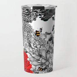 Bee Stung - Red Travel Mug